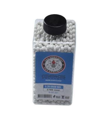 GandG Perfect BBs, 0.28g, 2700 ct Bottle, White