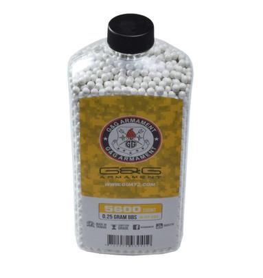 GandG Perfect BBs, 0.25g, 5600 ct Bottle, White