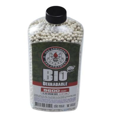 GandG Perfect BBs, 0.20g, 5600 ct Bottle, White, Biodegradable