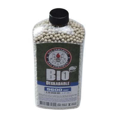 GandG Perfect BBs, 0.28g, 5600 ct Bottle, White, Biodegradable