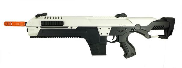 CSI STAR XR5 1503 AEG Airsoft Battle Rifle, White/Black