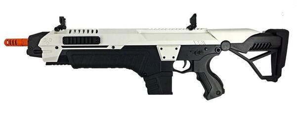 CSI STAR XR5 1508 AEG Airsoft Battle Rifle, White/Black