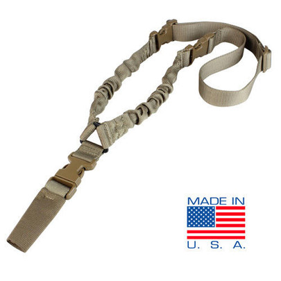 Condor COBRA One Point Bungee Sling, Tan