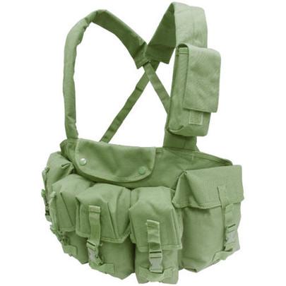 Condor 7 Pocket Tactical Chest Rig, OD Green