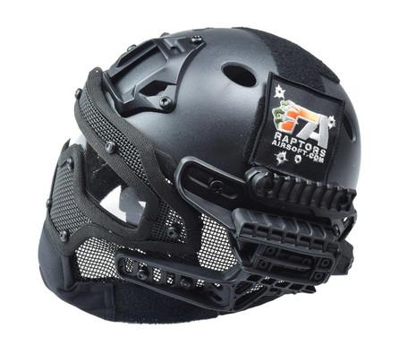 RTQ G4 System PJ Helmet and Full Mask, Black