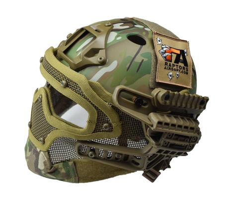 RTQ G4 System PJ Helmet and Full Mask, Modern Camo