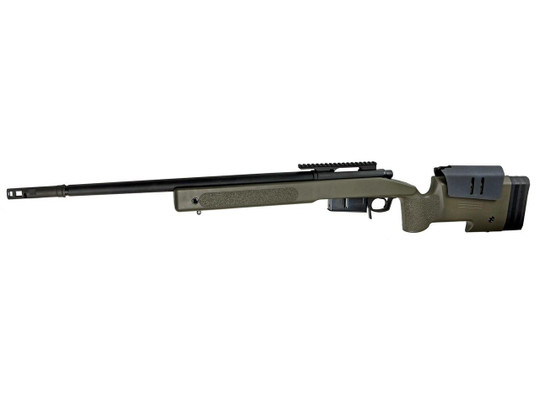 McMillan M40A5 Gas-Powered Airsoft Sniper Rifle, OD/Black - REFURBISHED