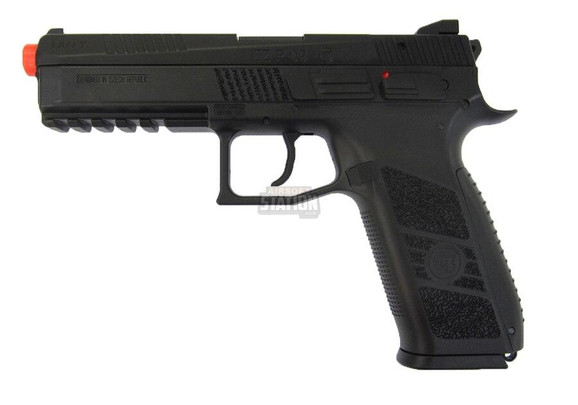 CZ P-09 Gas Blowback Airsoft Pistol w/ Metal Slide by ASG and KJW - Refurbished