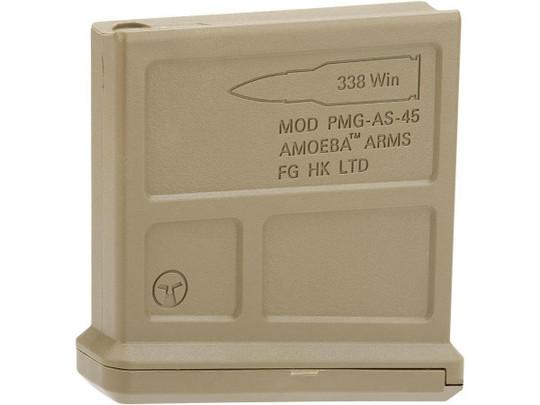 ARES Amoeba Gen 2 Striker Magazine, 60 BB, FDE/Tan