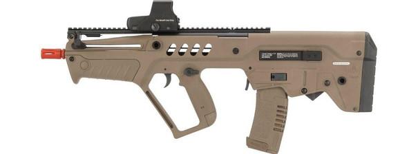 IWI Tavor CTAR Flat Top Elite Airsoft Rifle with FCU MOSFET, Tan