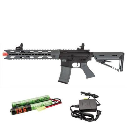 Valken Battle Machine AEG V2.0 TRG-L Black/Grey w/ Battery and Charger