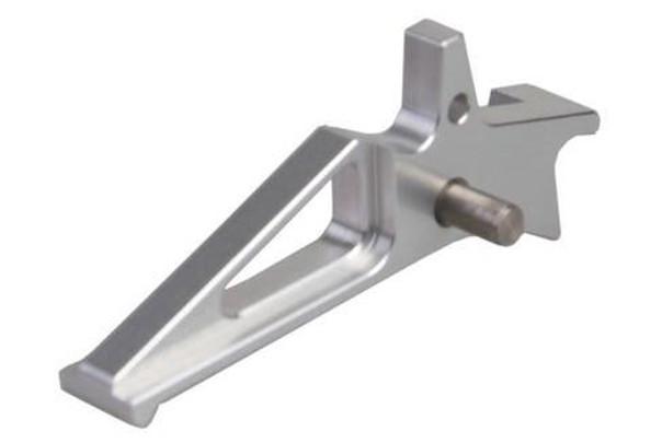 CNC Aluminum M4 Timer Trigger, Silver