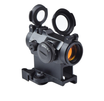 Raptors Airsoft AIM Style H2 Red Dot Sight, Black