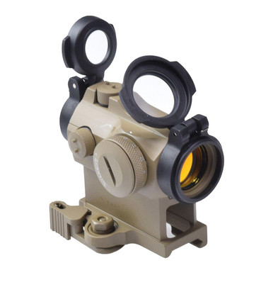 Raptors Airsoft AIM Style H2 Red Dot Sight, Tan / FDE