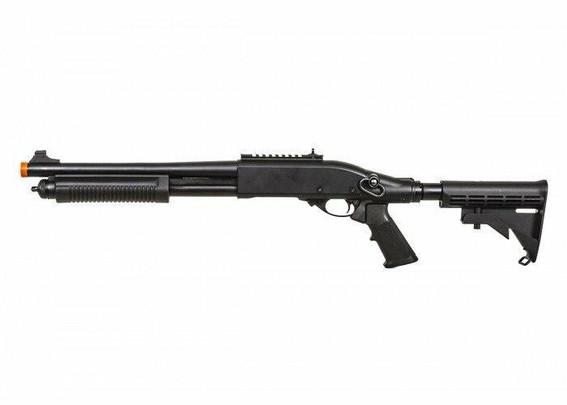 JAG Arms Scattergun TS Gas Powered LE Stock Shotgun, Black