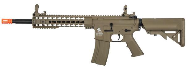 Lancer Tactical M4 10 Keymod AEG, Dark Earth - Upgraded Gen 2