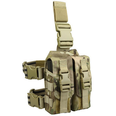 Condor MA65-008 Drop Leg M4 Mag Pouch, Multicam