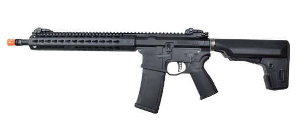 KWA PTS Mega Arms MKM AR-15 Gas Airsoft Rifle, Black