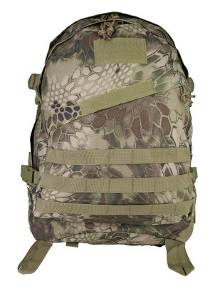 Tactical Patrol MOLLE Backpack - Reticulated Camo