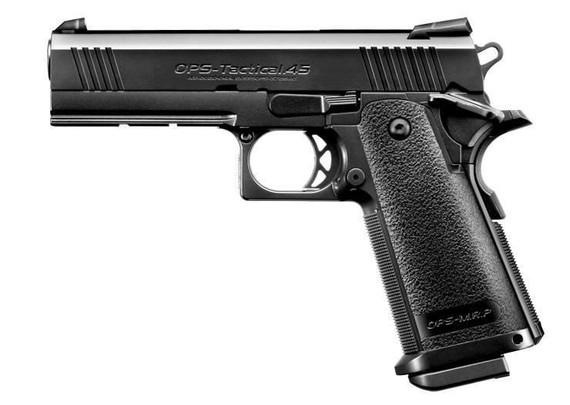 Tokyo Marui Hi-Capa 4.3 Gas Blowback Airsoft Pistol, Black