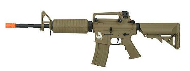 Lancer Tactical M4A1 Carbine Combat Ready AEG, Gen 2, Tan