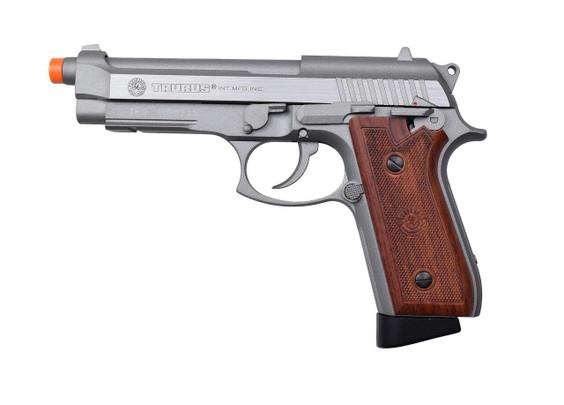 Taurus PT92 Blowback Airsoft Pistol, Silver