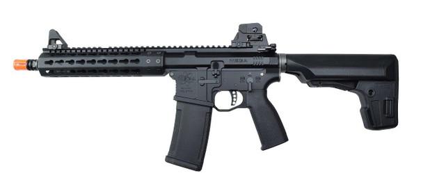 KWA PTS Mega Arms MKM AR-15 CQB Gas Airsoft Rifle, Black