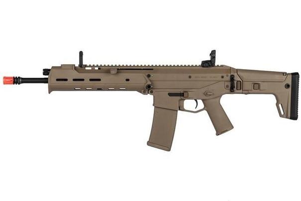 KWA PTS Masada Gas Blowback Airsoft Rifle, FDE/Tan