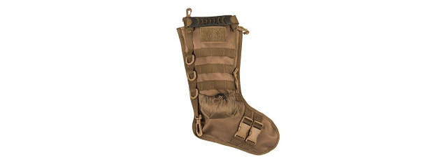 Lancer Tactical MOLLE Stocking, Tan