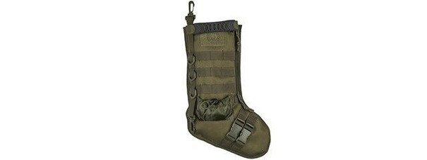 Lancer Tactical MOLLE Stocking, OD Green