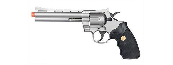 UK Arms Spring Revolver, Sliver