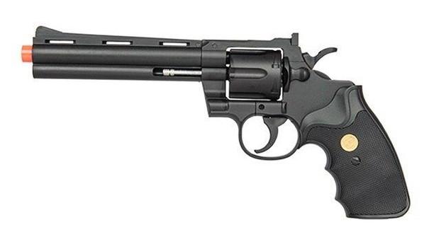 UK Arms Spring Revolver, Black