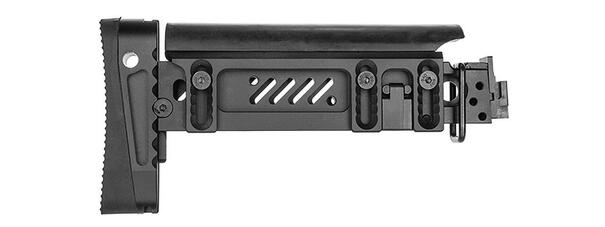 ASP Tactical AK AEG Folding Stock, Black