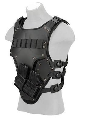 TF3 High Speed Airsoft Body Armor, Black