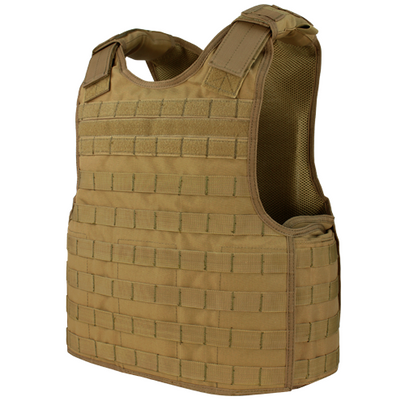 Condor MOLLE Defender Plate Carrier, Coyote