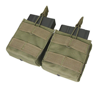 Condor MOLLE Double Open-Top M14 Mag Pouch, OD Green