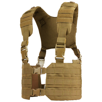 Condor MOLLE Ronin Chest Rig, Coyote