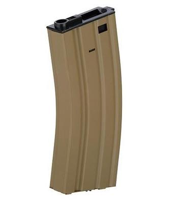 Lancer Tactical 300 Round Metal M4 High Capacity Magazine, Gen 2, Tan