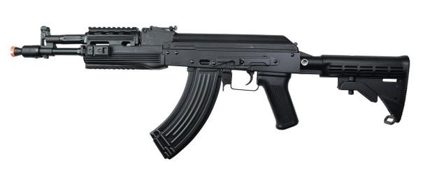 LCT AK-104 AEG Airsoft Rifle w/ LE Stock, Black
