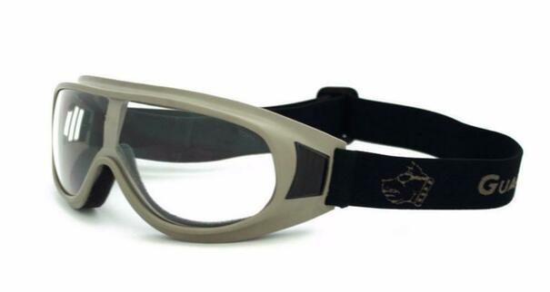 GOGGS Commander I Over-RX Goggles w/ Foggstopper, Clear Lens, Dark Earth Frame