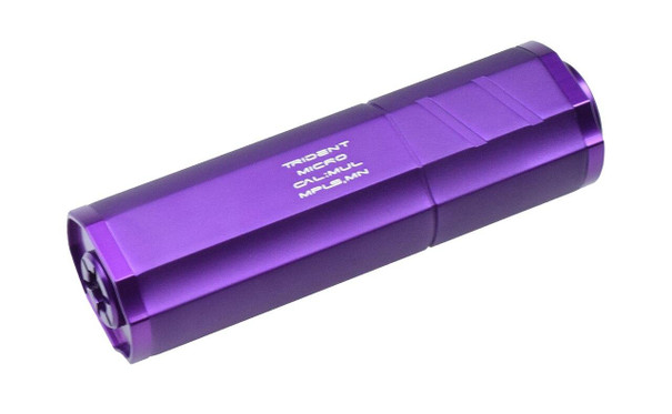 Helix Trident Micro Mock Airsoft Suppressor, Purple