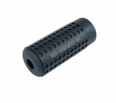 SRC 14mm CCW Mock Silencer, 3.5, Black