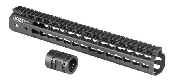 Ares Metal Keymod Handguard, 13.5 Inch, Black