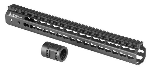 Ares Metal Keymod Handguard, 15 Inch, Black