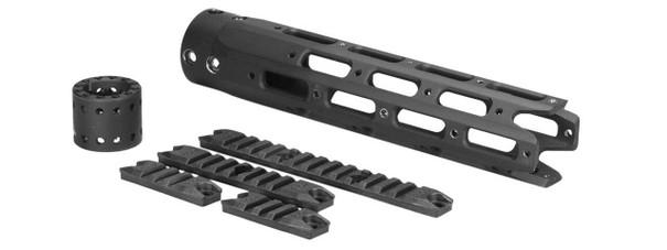 Ares 250mm M4/M16 Octagonal Handguard Set, Black