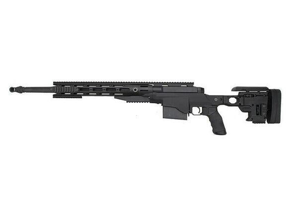 Ares Remington MSR700 Bolt Action Airsoft Sniper Rifle, Black