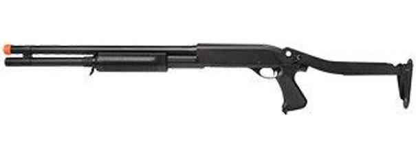 CYMA Tri-Shot Spring Shotgun with Metal Folding Stock, Long Version