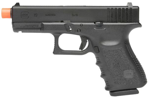 GLOCK Gen 3 G19 Gas Blowback Airsoft Pistol, Black