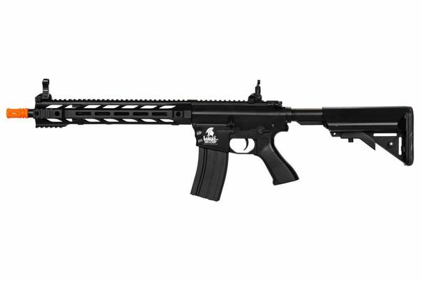 Lancer Tactical Interceptor SPR Airsoft Rifle, Gen 2, Black