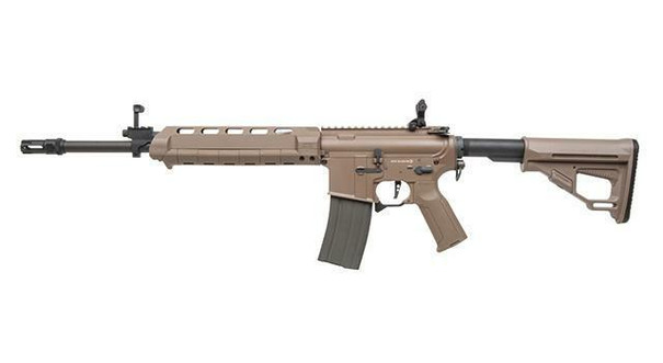 Ares X Amoeba M4 Extended AEG Airsoft Rifle, Dark Earth